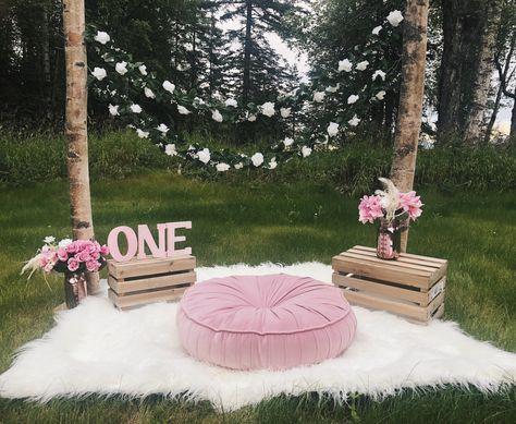 70 Ideas Baby Girl Cake Smash Outdoor Photo Shoot Birthday Girl