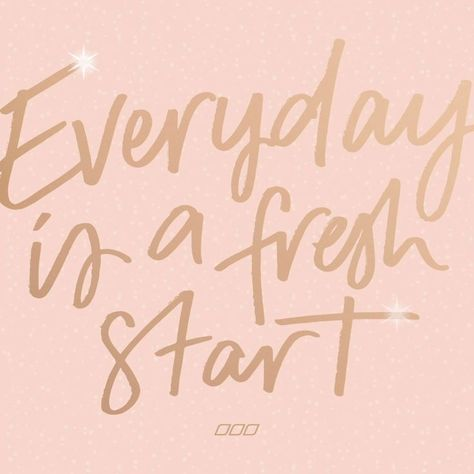 REMINDER: You don't need a New Year to change your life. Every day is a fresh start, and we've got you every step of the way ✨