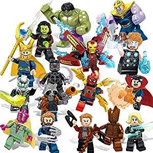 16Pcs Minecraft My World Series Mini Figures Characters Building Blocks Fit Lego