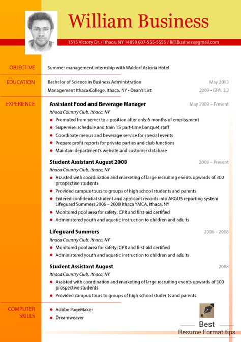 Best Resume Format Online (richardbeard541) on Pinterest - how to prepare resume