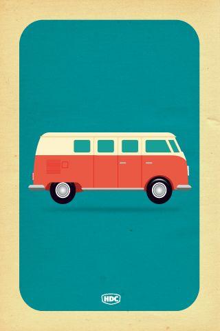 Vw Camper Van Iphone Wallpaper Volkswagen Wolkswagen Van