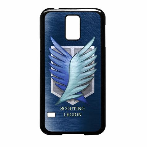 Scouting Legion Silver Attack On Titan Samsung Galaxy S5 Case With Images Galaxy S5 Case