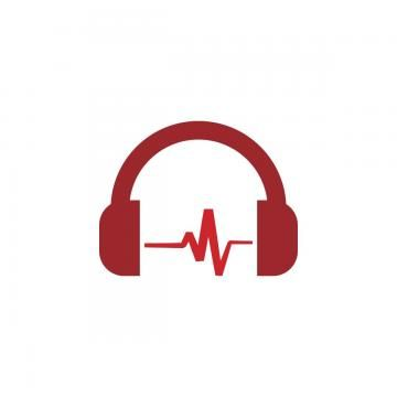 Red Headphone Template Vector Template Icons Red Icons Beat Png And Vector With Transparent Background For Free Download Clip Art Vintage Photoshop Backgrounds Free Music Illustration