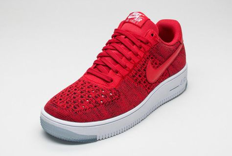 super popular 28d88 b01ef Nike Air Force 1 Ultra Flyknit Low Color  University Red University Red- White