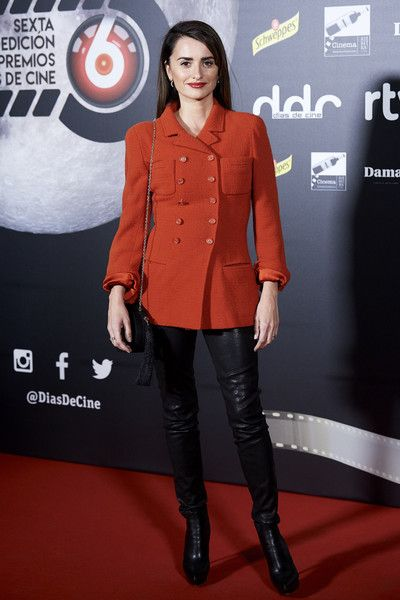 Actress Penelope Cruz attends the 'Dias de Cine' awards at Cineteca.