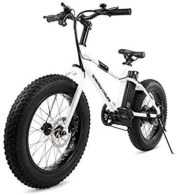 Amazon Com Swagtron Eb 6 Bandit E Bike 350w Motor Power Assist