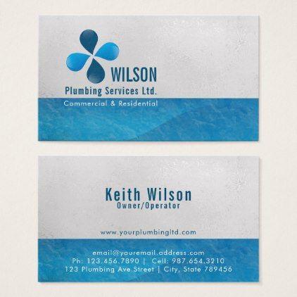 Plumbing Construction Business Card Zazzle Com Construction Business Cards Plumbing Logo Plumbing Logo Design