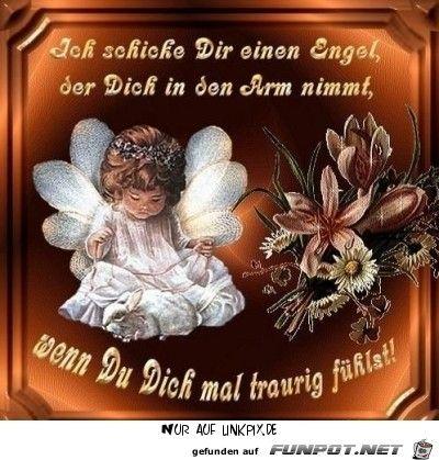 Ich Schick Dir Einen Engel Sprüche Engel Gute Nacht Engel