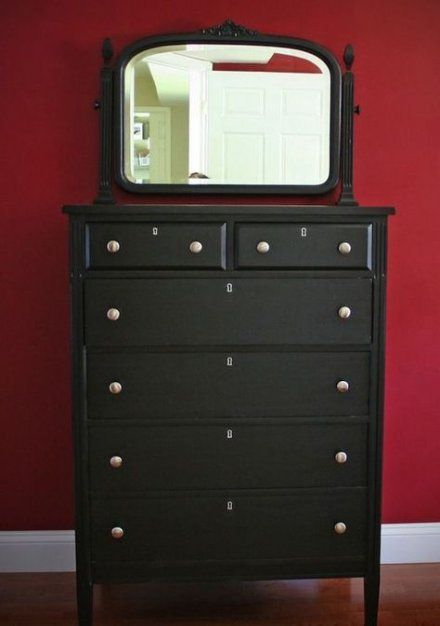 Painting Furniture Black Without