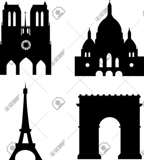 Paris Sights Eiffel Tower Sacre Couer Arc De Triomph Notre Dame Eiffel Tower Tower Eiffel