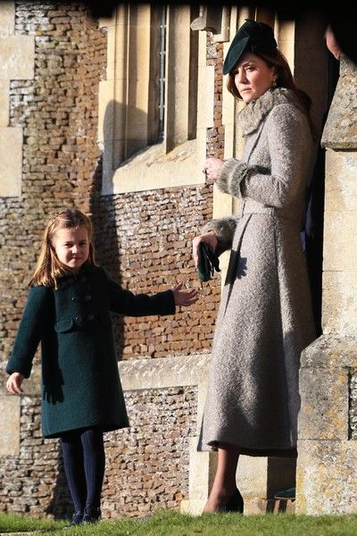Royals Leave Church Christmas 2020 Kate Middleton Photos Photos: The Royal Family Attend Church On