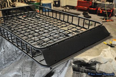 The Nissan Path View Topic Rage Roof Basket Light Bar Install Basket Lighting Bar Lighting Roof Basket