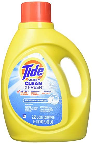 Tide Simply Clean And Fresh High Efficiency Liquid Laundry