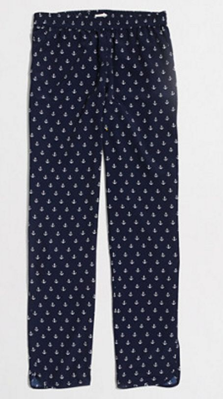 Anchors Away Pant in Navy and White