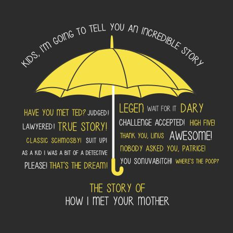 How I Met Your Mother Quotes Himym Alternate Endinghow I Met Your Mother #himym  Ra Ideas