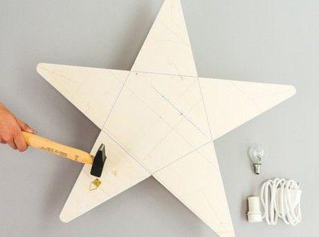 Diy Fabriquer Une étoile Lumineuse Leroy Merlin