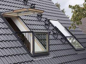 Dachloggia Loggia Nachtraglich Einbauen Dachloggia Dachbalkon Dachfenster