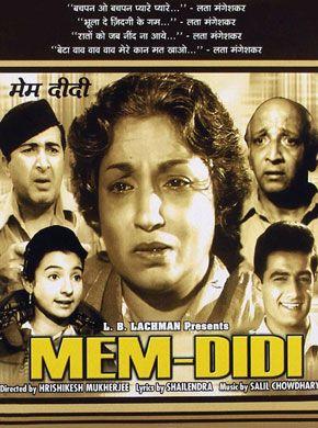 Mem-Didi (1961) Hindi in HD - Einthusan | Bollywood Movies