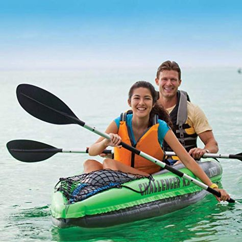 Canoe 2-person Inflatable Tandem Kayak For Adults 351x76x38 Cm Galapara Challenger K2 Kayak Boat