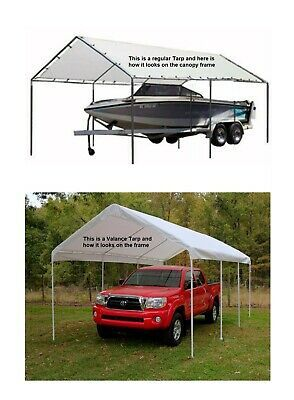 Odc 18x30 Canopy Fittings Kit 1 3 8 No Poles Legs Carport Boat Rv Garage In 2020 Carport Rv Garage Carport Canopy