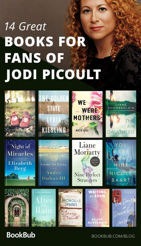 Do you love Jodi Picoult's books? If you do, you'll love this book list! Check out this compelling novels.
