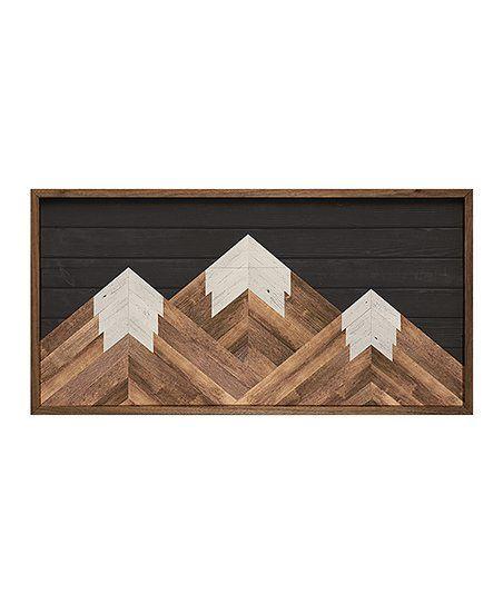 Kendrick Home Dark Mountains Framed Wall Art Zulily Framed Wall Art Dark Mountains Wall Art
