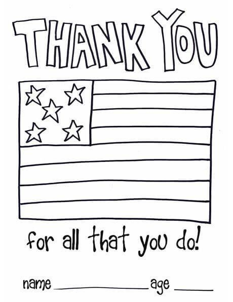 Veterans Day Card Template Veterans Day Activities Veterans Day Coloring Page Service Projects For Kids