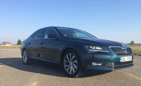 Exclusive Review 3rd Generation Skoda Superb Automobile