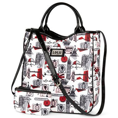 Lulu by Lulu Guinness™ Top Handle Tote - jcpenney