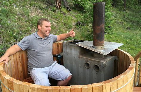 52 Crazy hot tubs ideas | hot tub, tub, diy hot tub