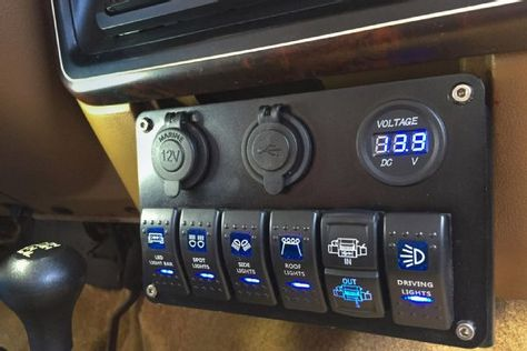 015 Painless Trail Rocker Rocker Panel Installed Photo 227175920 Lights Auxiliary Painless