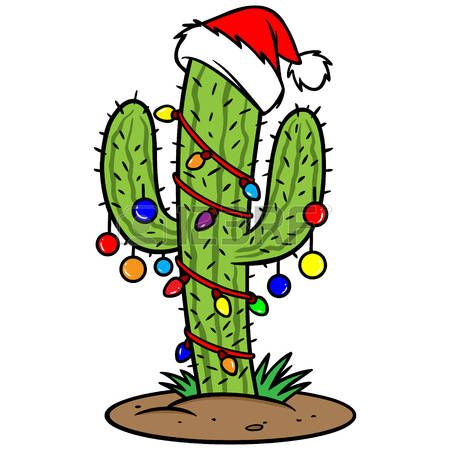 Image result for clip art cactus snowman