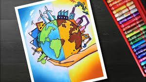 Image Result For Poster Making Eco Friendly And Energy Consumption Poster Drawing Save Earth Drawing Earth Drawings