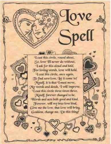 free love spells that work fast with a picture