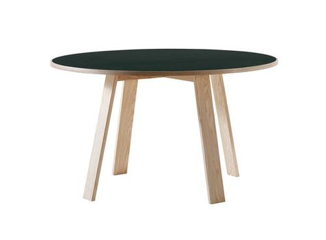 Bac Table A Manger Contemporaine En Frene En Bois Teinte