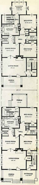 1926 Standard House Plans The Brunswick Home Designs