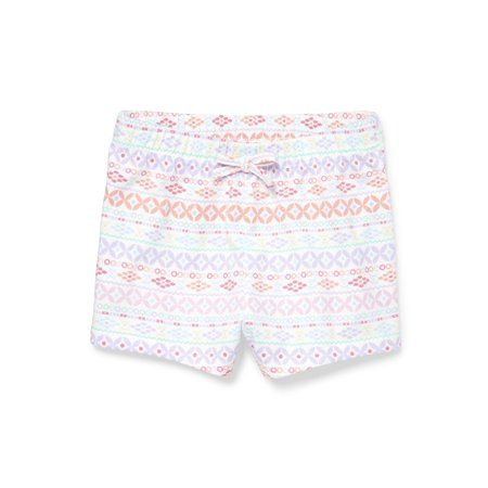 The Childrens Place Baby Girls Novelty Printed Waistband Shorts
