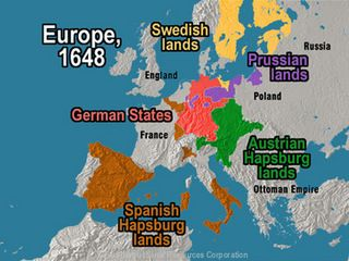 Best Rise Of Austria And Prussia Images On Pinterest Austria - Map germany thirty years war