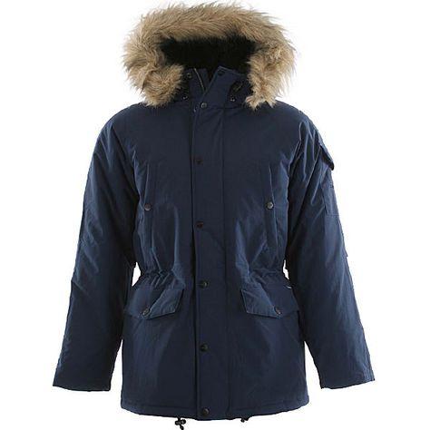 Carhartt Anchorage Parka Jacket - Sub Blue/Black