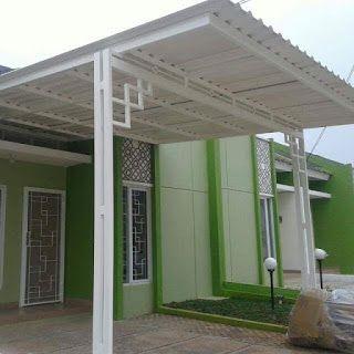 Jasa Tukang Kanopi Bengkel Las Bintaro Pamulang Pondok Cabe Sawangan Cinere Parung Panjang Kanopi Rumah Teras Minimalis