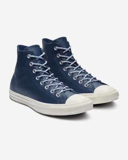 Star Limo Leather High Top Unisex Shoe