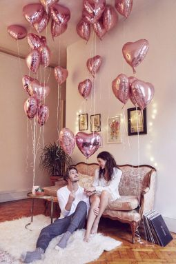 15 Romantic Valentine S Day Gift Ideas For Her Society19 Wedding Balloons Helium Balloons Birthday Heart Balloons Wedding