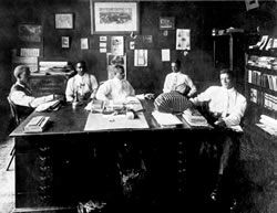 Nc Mutual Life Insurance Company Leaders Picture Taken Circa 1911