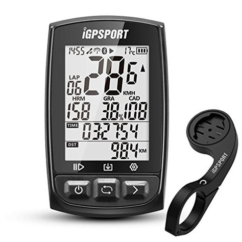 Function Cycle Computer with Bike Mount iGPSPORT GPS Bike Computer Wireless Cycling Computer with ANT