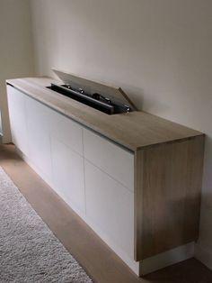 Verwonderend VESPER TV-lift meubel 55 inch | Fernseher verstecken, Schlafzimmer TD-24