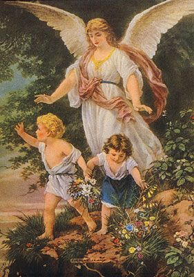 Guardian Angel - My mothers favorite after losing both parents i a car accident at the age of 14. No doubt her and her brother were watched over!