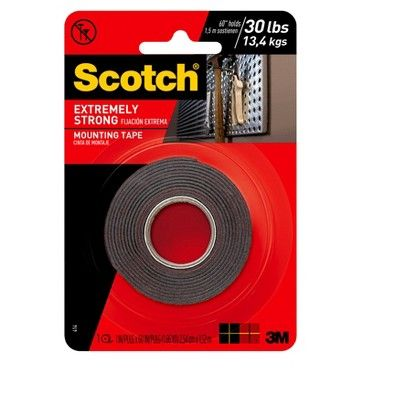 3m Extreme Mounting Tape 1 X60 Mounting Tape Double Sided Mounting Tape Tape Case