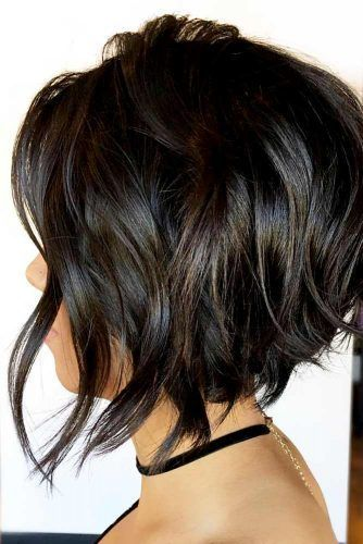 27 Ideas Of Inverted Bob Hairstyles To Refresh Your Style My Stylish Zoo Favouritewomenshaircuts Inverted Bob Hairstyles Wavy Bob Hairstyles Bob Hairstyles