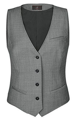 LISUEYNE Damen 3-teilig Anzug Office Lady formelles Blazer Business Suit Set Damen Suits Arbeit Rock//Hose,Weste Sakko