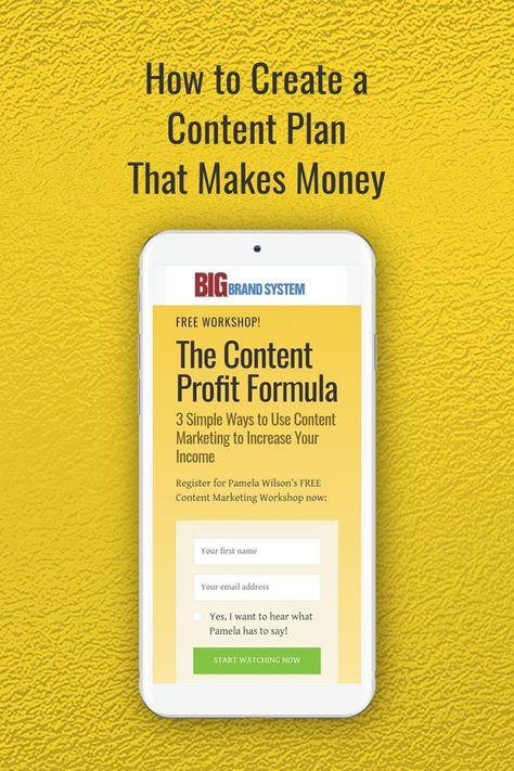 The Content Profit Formula   Free Workshop